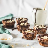 Nutella Baked Mini Cheesecakes -2 The Cupcake Confession