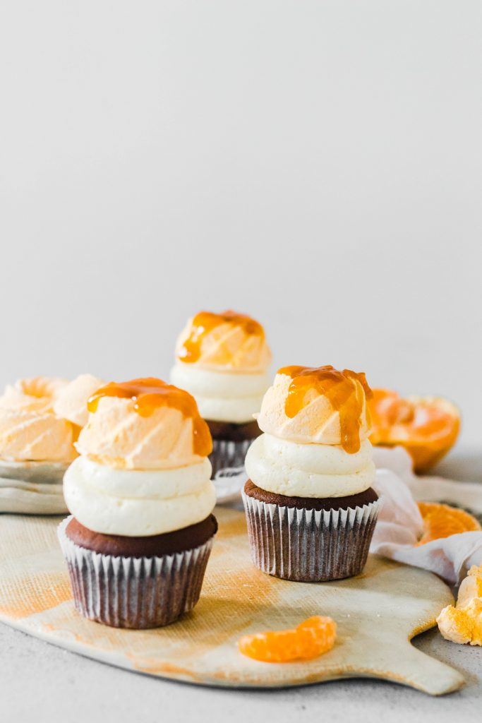 chocolate orange ginger cupcakes - the cupcake confession-1